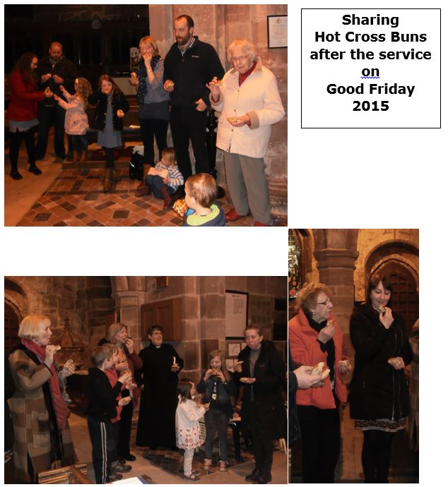 Hot Cross Bun Service 2015